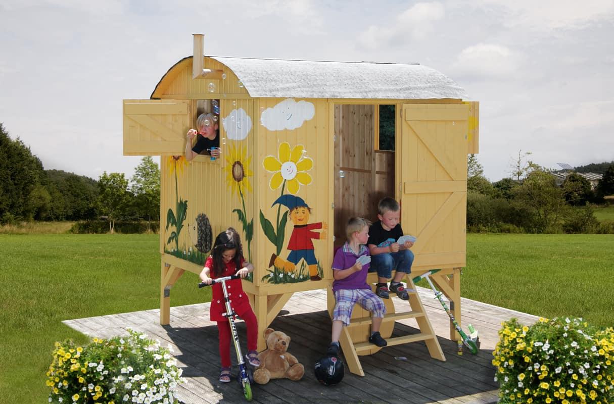 Kinder-Gartenhaus