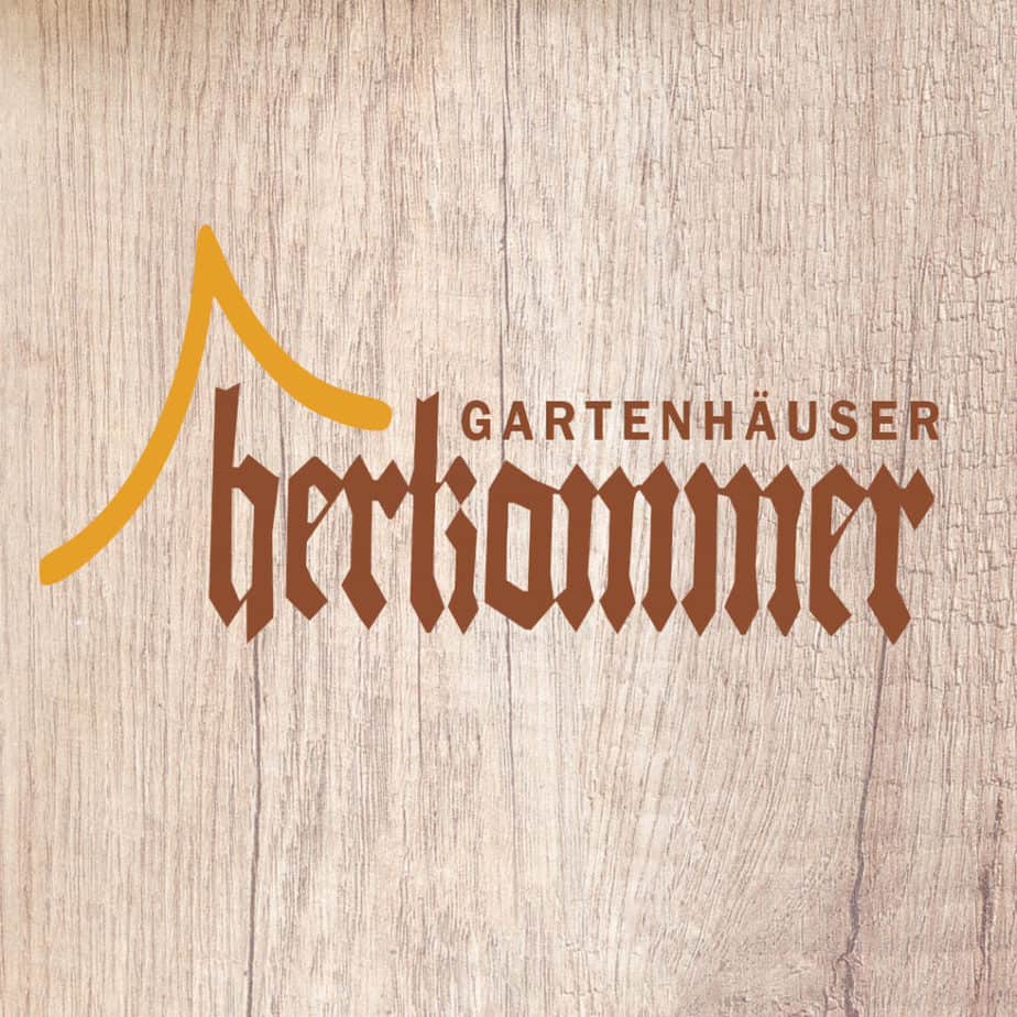 Gartenhaus Herkommer Logo Holz